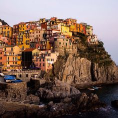 Five fishing villages with pastel-colored buildings cling to the jagged cliffs along this picturesque portion of the Ligurian coast. Photo courtesy of nodestinations on Instagram.