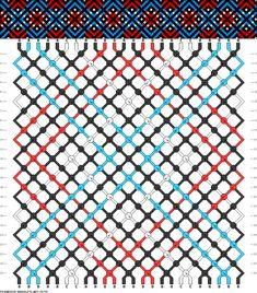Muster # 76776, Streicher: 24 Zeilen: 24 Farben: 4