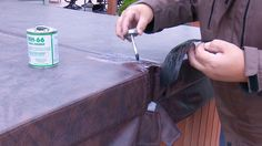 How to Repair a Hot Tub or Spa Cover using HH-66
