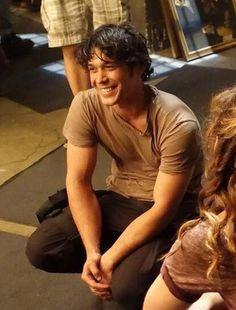 Here is your a pin to make your day better. Bob Morley, ladies and gents. Sweet mercy.