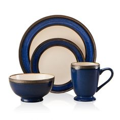 Shop for Pfaltzgraff Everyday Catalina 16-piece Dinnerware Set Cobalt. Get free delivery at Overstock.com - Your Online Kitchen