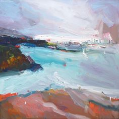 Richard Claremont #Art and #Inspiration - Sydney from Camp Cove - #Seascapes…