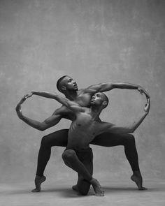 Michael Jackson Jr and Sean Aaron Carmon, of the Alvin Ailey American Dance Theater, models. Alvin Ailey, Male Ballet Dancers, Dance Project, Dance Movement, Dance Poses, Lets Dance, Praise Dance, Jazz Dance, Ballroom Dancing