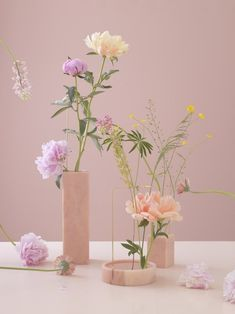 The Fantastic Marble Vase Designs by Bloc Studios as seen by Photographer Carl Kleiner Pink Tone, Pink Marble, Ikebana, Pink Aesthetic, Flower Vases, Foto E Video, Holi, Floral Arrangements, Minimalist Photography
