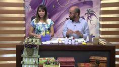 Mulher.com 01/09/2014- Cabideiro com arranjo floral -  Carlos Saad