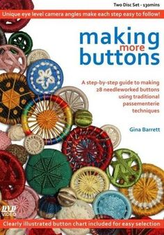 Book - 'Making More Buttons' by Gina Barrett