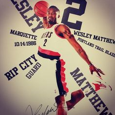 Wesley Matthews Poster Night