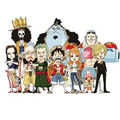 One Piece New World, One Piece Crew, One Piece 1, One Piece Luffy, One Piece Anime, Roronoa Zoro, Anime Chibi, Manga Anime, One Peace