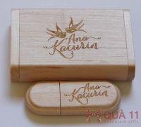 Quà tặng gỗ khắc laser