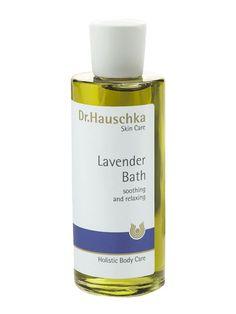 Dr Hauschka lavender bath oil