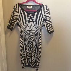 Aztec Print Sweater Dress Med Aztec Print Sweater Dress Med Dresses Asymmetrical