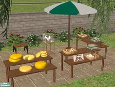 marilu's Weekly Market Part 1 The Sims 2, Sims 1, Sims Community, Sims 4 Cc Finds, Sims Resource, Outdoor Furniture Sets, Outdoor Decor, Electronic Art, Night Life