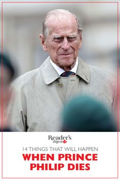 14 Things That Will Happen When Prince Philip Dies - While we hope he still has many birthdays ahead, the question arises: What will happen on the sad o - English Royal Family, British Royal Families, Royal Family Of England, Prince Charles And Diana, Prince Andrew, Royal Baby Nurseries, Prins Philip, Princess Diana Funeral, Old Prince