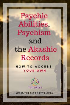 Here's a new article about psychic abilities, psychism and the Akashic Records. This article will what pswhatychic abilities are all aall zx bowy[p Psychic Powers, Psychic Abilities, Past Life, Way Of Life, Reiki, Psychic Development, Personal Development, Akashic Records, Psychic Mediums
