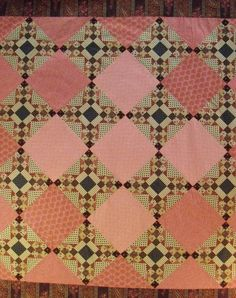 Quilt Top from Reproduction Fabric Civil War Crossings by Patalier, $175.00