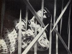 Film Thaïs, Galitzky in Thais  Direccion: Anton Giulio Bragaglia Escenografía: Enrico Prampolini 1917