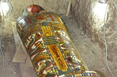 3200-year-old Egyptian mummy discovered in brightly painted coffin