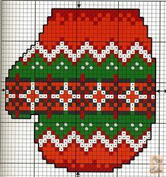 Gallery.ru / Фото #1 - маленькие новогодние вышивки х - anapa-mama
