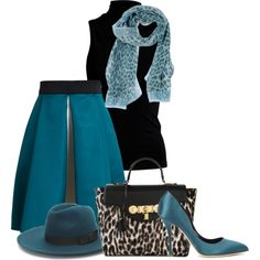 """""""Versace blue"""" by cavell on Polyvore"""