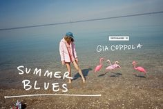 Lookbook: Summer Blues - Urban Outfitters // photographed by Gia Coppola