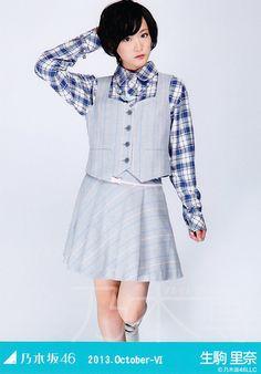 WEBSHOP限定生写真 2013.October-Ⅵ チェックシャツ ヒキ