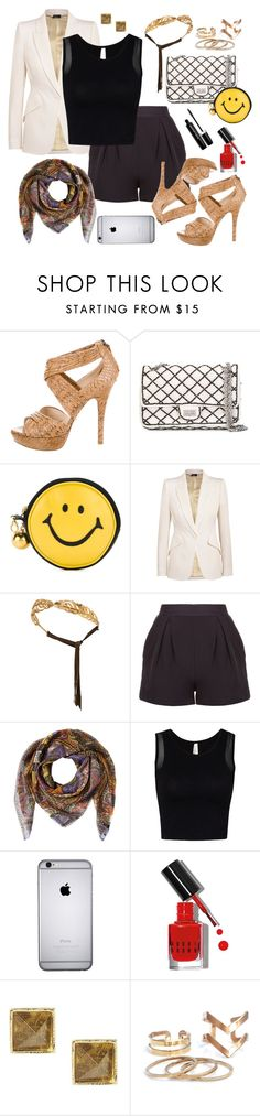 """Legs for miles"" by frankie-13 ❤ liked on Polyvore featuring Prada, Chanel, Moschino, Alexander McQueen, Madina Visconti di Modrone, Etro, Bobbi Brown Cosmetics, Banana Republic, Marc Jacobs and outfit"