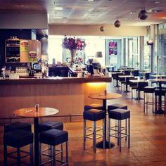 De bar van het Toneelschuur café #hotspot #haarlem #toneelschuur
