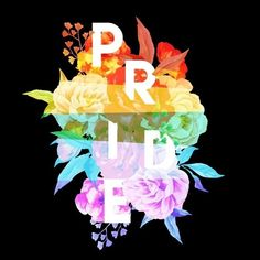 Shop Floral Pride lgbt t-shirts designed by emcollins as well as other lgbt merchandise at TeePublic. Gay Pride, Bisexual Pride, Pride Flag, Lgbt Quotes, Lgbt Memes, Gay Aesthetic, Taste The Rainbow, Lgbt Community, Rainbow Pride