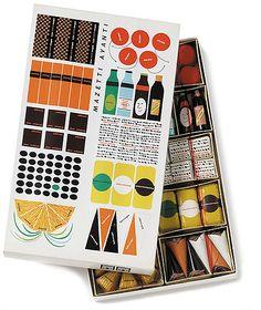 マゼッティが1958年に発売したチョコレート詰め合わせセット