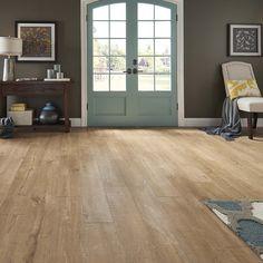 Shop Pergo MAX Premier 7.48-in W x 4.52-ft L Scottsdale Oak Embossed Laminate Wood Planks at Lowes.com