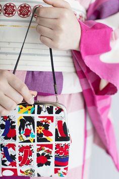 Gamaguchi Wallet Large Hanafuda : SOU • SOU US Online Store