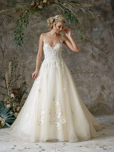 See the full range of collections of wedding dresses and bridal separates by Charlotte Balbier Bridal Princess Wedding Dresses, Designer Wedding Dresses, Wedding Gowns, Bridal Gown, Wedding Bells, Tulle Ball Gown, Ball Gowns, Bridal Looks, Bridal Style