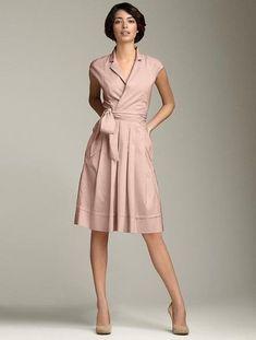 Simple but gorgeous professional work dresses ideas 18 Dress Skirt, Dress Up, Shirt Dress, Pretty Dresses, Dresses For Work, Mode Simple, Pink Dress, Nude Dress, Dress To Impress