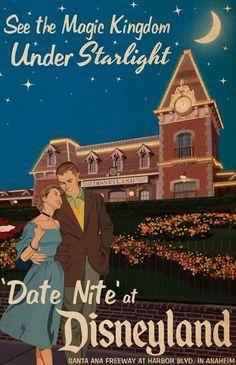 Vintage Disneyland Ad