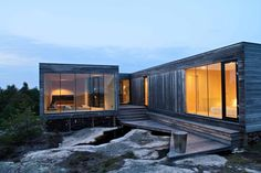 The house is beautifully situated on the top of a hill overlooking the ocean and the horizon, placed in the midst of an uncultivated landscape on a small pen...