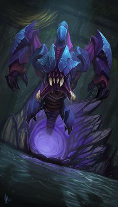 Rek'Sai by SarahJaneArt on DeviantArt