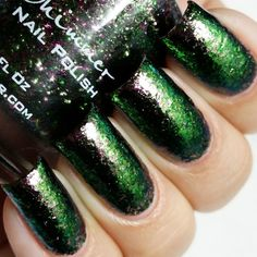 KBShimmer Green Weaver Indie Nail Polish