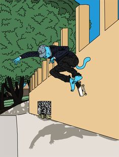 Sieben chats with Leon Karssen about aliens, potheads and the Internet. You know, art stuff. Cat Character, Character Design, Ripndip Wallpaper, Skateboard Companies, Background Drawing, Skate Art, Skateboard Art, Blue Cats, Photo Wall Collage