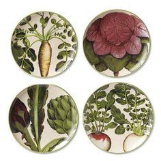 Farmers' Market Salad Plates, Set of 4 on Williams-Sonoma.com