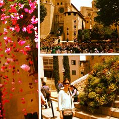 Temps de flors, Catalunya, tradition Catalonia, Girona, Spring, flowers, happiness