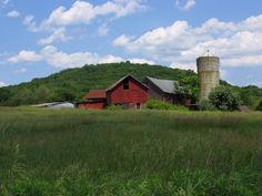 Allamuchy State Park, NJ - abandoned farm  located in the park just off of Rt. 517 north of Hackettstown.