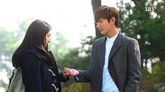 Lee Min-ho once again assumed the role of a rich kid who falls for a poor girl in 2010's high school drama The Heirs.