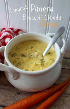 Amazing ~ http://foodiesnetwork.tv/copycat-panera-bread-broccoli-cheddar-soup/ ~ Enjoy!