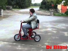 Di Blasi R30 Auto Folding Mobility Scooter - YouTube