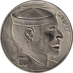 The Original Hobo Nickel Society Hobo Nickel, Coin Art, Sailors, Pirates, Buffalo, Cactus, Coins, The Originals, Succulents