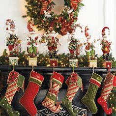 mark roberts christmas list fairy stocking holder - Mark Roberts Christmas