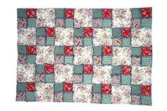Try my easy Double Four Patch rag quilt pattern the next time you're looking for a quick and cuddly quilting project.