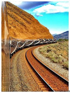 Sent From The Train Near Kamloops by Kenneth r Rowley on 500px