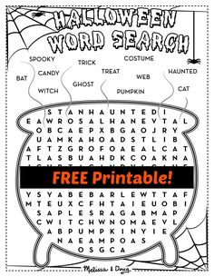 2 FREE Printable Halloween Activity Pages - Melissa & Doug
