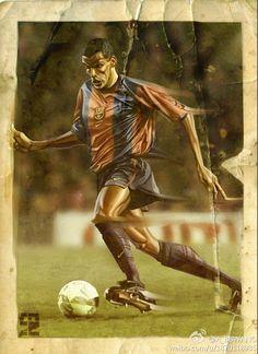 Rivaldo by A-BB.deviantart.com on @deviantART